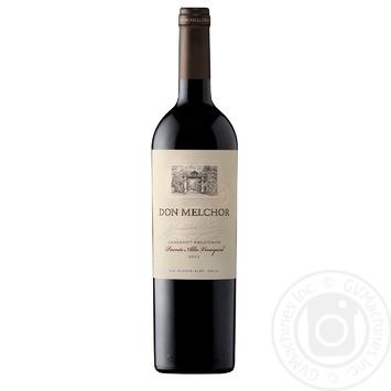Concha y Toro Cabernet Sauvign Don Melchor Red Dry Wine 0.750l