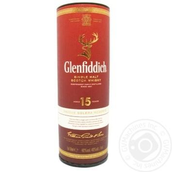 Віскі Glenfiddich 15 років 40% 50мл - купити, ціни на МегаМаркет - фото 1