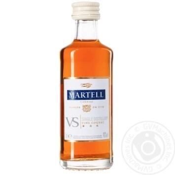 Martell V.S. 40% Cognac 50ml - buy, prices for CityMarket - photo 1