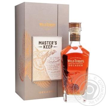 Wild Turkey Decades 20 yrs bourbon 52% 0.75l - buy, prices for Novus - image 1