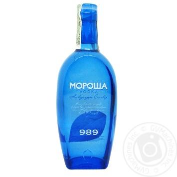 Morosha Synevir Special Vodka 40% 0,5l - buy, prices for Novus - image 1
