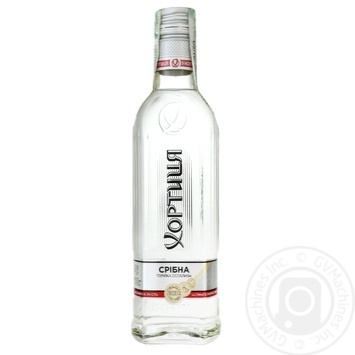 Khortytcya Sribna Proholoda Vodka 40% 0,5l