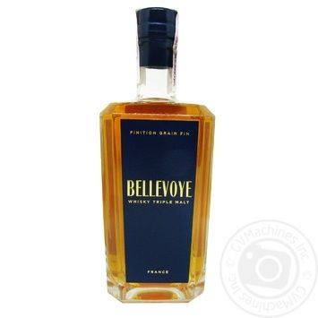 Виски Bellevoye Fine Grain Finish 40% 0,7л в коробке