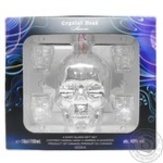 Crystal Head Aurora Vodka 0,7l + 4 Glasses in Box