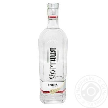 Khortytsya Sribna Prokholoda Special Vodka 40% 1l - buy, prices for Novus - image 1