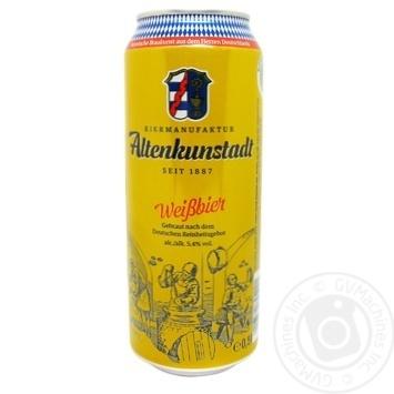 Пиво ABG Beirmanufaktur AKU Weissbier пшеничное 5,4% 0,5л