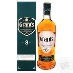 Виски Grant's 8 лет 40% 0,7л