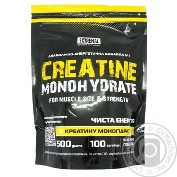 Добавка диетическая Extremal Creatine Monohydrate энергетик 500г