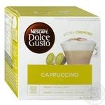Напиток кофейный Nescafe Dolce Gusto Капучино в капсулах 16шт 186.4г