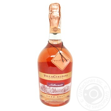 Villa Cialdini Spurmante Rose Brut Sparkling Wine 12% 0.75l