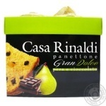 Casa Rinaldi Gran Dolce Panettone with Pear and Chocolate 750g