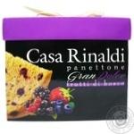 Панеттоне Casa Rinaldi Gran Dolce с лесными ягодами 750г