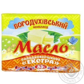 Масло солодковершкове Богодухівський молзавод екстра 83% 180г
