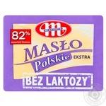 Масло сливочное Mlekovita Экстра безлактозное 82% 200г