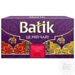 Batik Black Tea Set Sri Lanka's Gift 3 flavors 150г