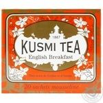 Чай Kusmi Tea English Breakfast черный 2,2г*20пак. 44г