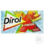 Dirol X-Fresh Chewing Gum Peach and Watermelon Freshness 13.5g