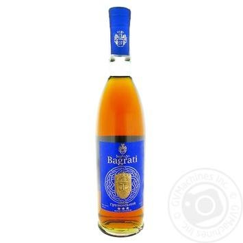 Bagrati Cognac 3* 40% 0.5l