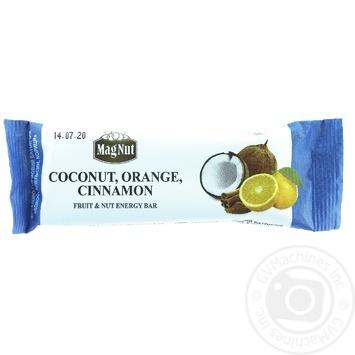 MagNut Bar Coconut Orange Cinnamon 30g
