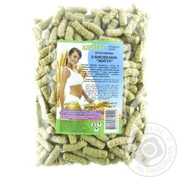Сніданок Здраво сухий з висівками житні 200г - купити, ціни на Novus - фото 1