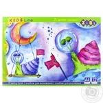 ZiBi Kids Line A4 Drawing Album 12p. assortment