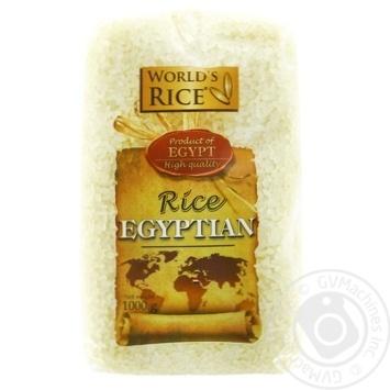 Groats rice camolino World's rice short grain white 1000g - buy, prices for Novus - image 1