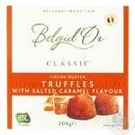 Конфеты Belgid'Or Трюфели со вкусом соленой карамели 200г