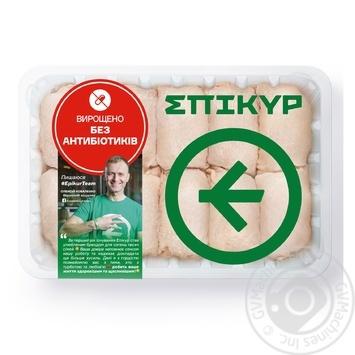 Мясо бедра Epikur курицы-бройлера охлажденное весовое (большая упаковка)