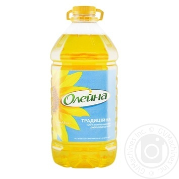 Oleina Traditional Refined Sunflower Oil 5l - buy, prices for Novus - image 1