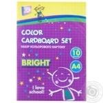 Набор цветного картона Cool for School А4 10 листов