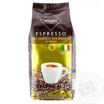 Кофе Rioba Espresso в зернах 1кг
