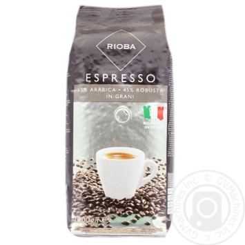 Rioba In Grains Coffee 1kg - buy, prices for Metro - image 1