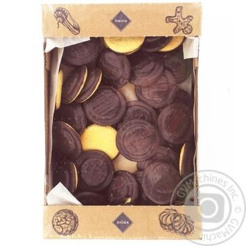 Печиво здобне Rioba Деліція апельсин 500г - купити, ціни на Метро - фото 1