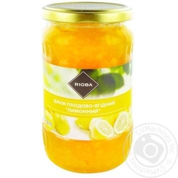 Джем Rioba лимонный 430г
