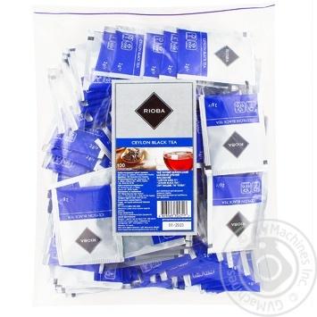 Чай Rioba черный цейлонський 100шт*2г