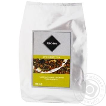 Чай Rioba Life energy травяной 220г