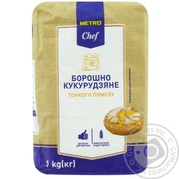 Борошно Metro Chef  кукурудзяна 1кш - купити, ціни на Метро - фото 1