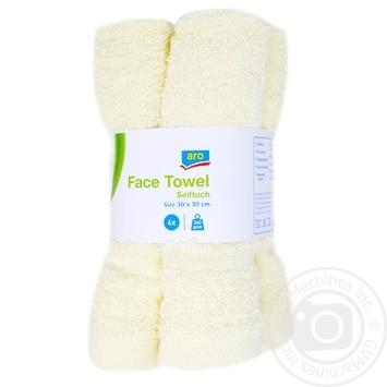Aro Set of towels 4 pieces 30Х30cm - buy, prices for Metro - image 1