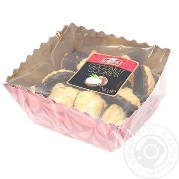 Печенье Lambertz кокосовое с шоколадом 260г