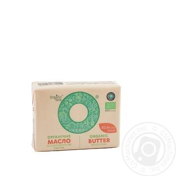 Масло Organic Milk органическое сладкосливочное экстра 82.6% 200г