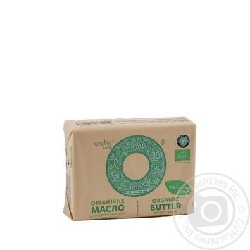 Organic Milk Creamy-Sweet Butter 74,5% 200g - buy, prices for MegaMarket - image 1