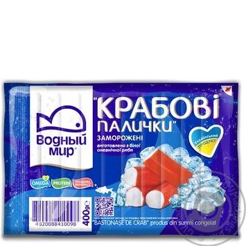 Крабові палички Водный мир заморожені 400г - купити, ціни на Метро - фото 3