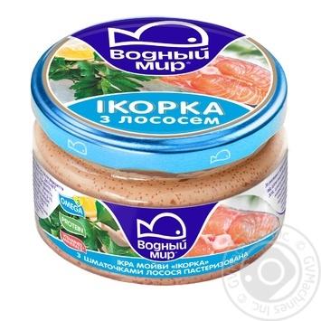 Паста Икорка Водный мир с лососем 160г - купить, цены на Novus - фото 5