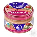 Vodniy Myr Capelin Caviar With Smoked Trout Pieces Pasteurized Paste 160g - buy, prices for MegaMarket - image 2