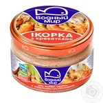 Vodniy Myr Capelin Caviar With Prawns Pasteurized Paste - buy, prices for Novus - image 2