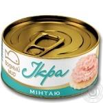 Caviar Vodnyi mir alaska pollack 120g