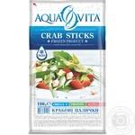 Крабовые палочки Aqua Vita замороженные 100г