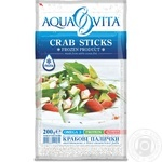 Aqua Vita Frozen Crab Sticks 200g