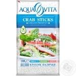 Палочки крабовые Aqua Vita охлажденные 100г