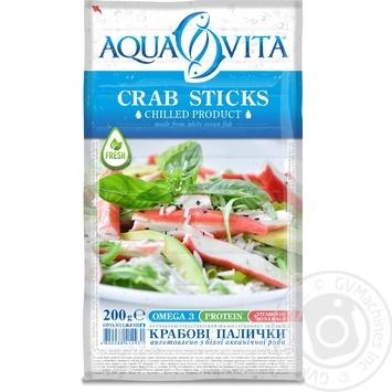 Крабовые палочки Aqua Vita охлажденные 200г